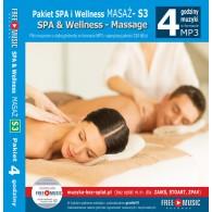Muzyka do SPA PAKIET S3 (RFM) 4 godziny muzyki MP3 do masażu bez opłat Zaiks