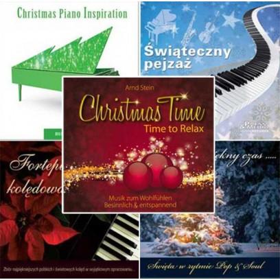 Zestaw Świąteczny Kwintet - zestaw 5 CD