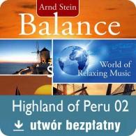 Highland of Peru - Darmowa muzyka relaksacyjna MP3 bezpłatny utwór z albumu Balance