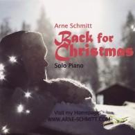 Back for Christmas - Arne Schmitt (RFM) CD