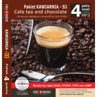 3S Muzyka dla kawiarni - PAKIET S3 (RFM) 4 godziny muzyki MP3 bez Zaiks
