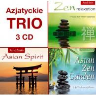 Kolekcja Azjatyckie TRIO - zestaw 3CD